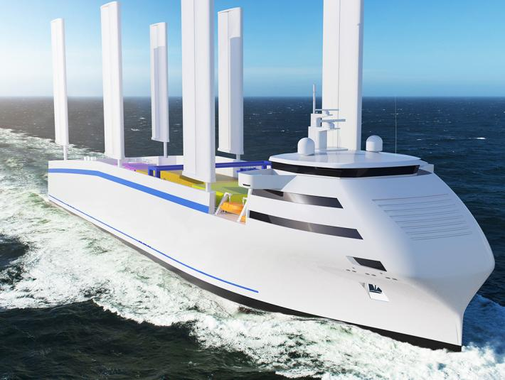 Oceanwings®, the smart wingsail for ship propulsion, ready to be manufactured