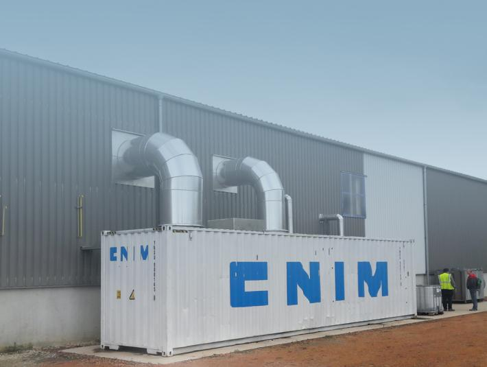 An absorption heat pump for the world's leading brick manufacturer