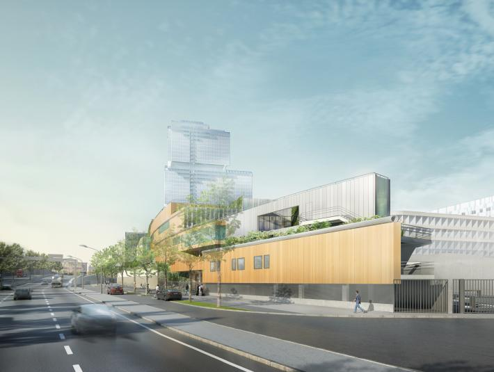 A new-generation sorting centre in Paris