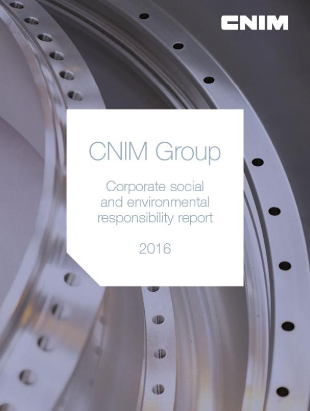 Corporate social and environmental responsibility 2016 report