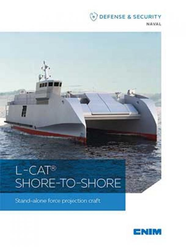 L -CAT® SHORE-TO-SHORE Stand-alone force projection craft