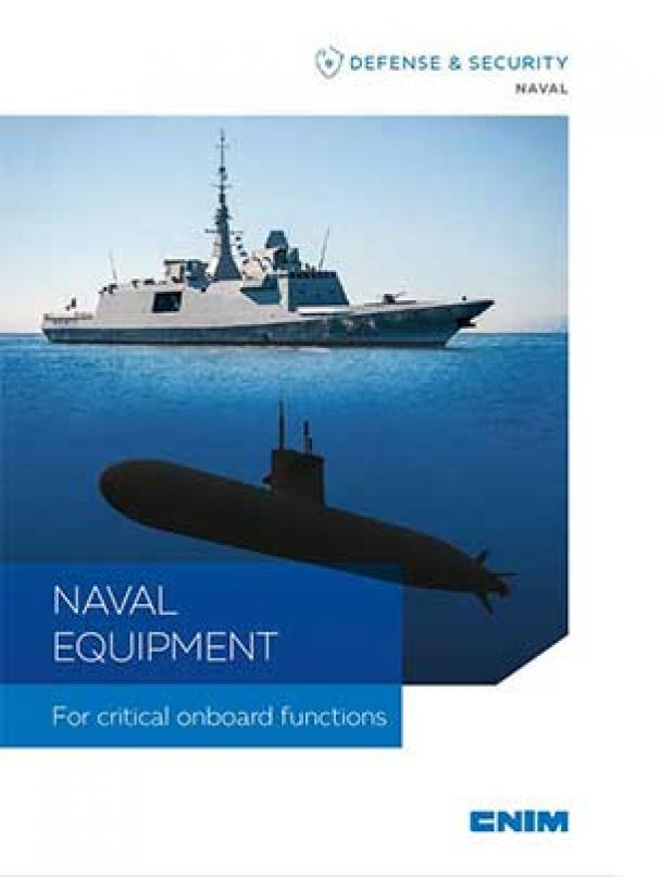 NAVAL EQUIPMENT For critical onboard functions