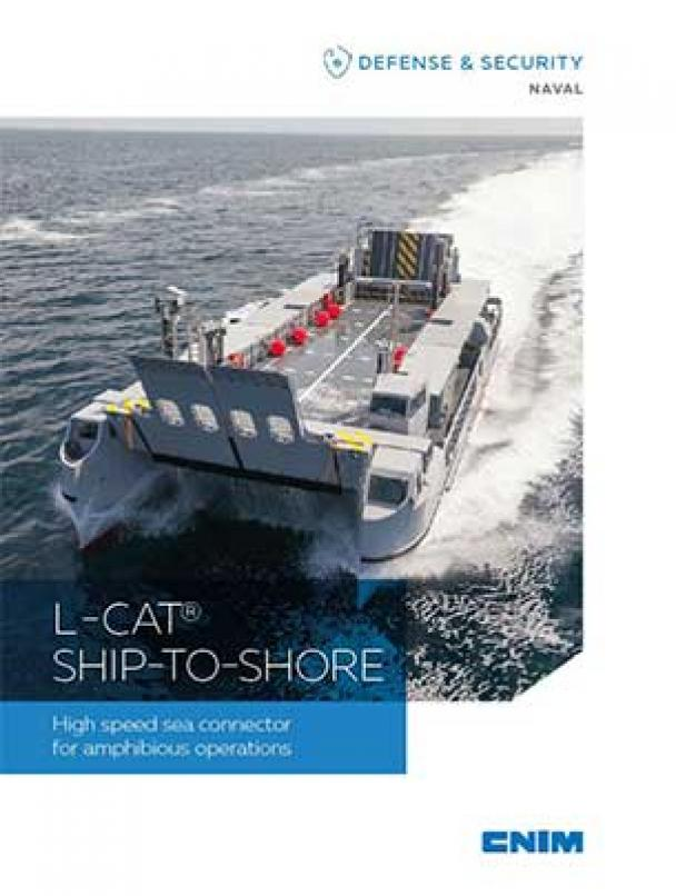 L-CAT Ship-To-Shore High speed sea connector for amphibious operations