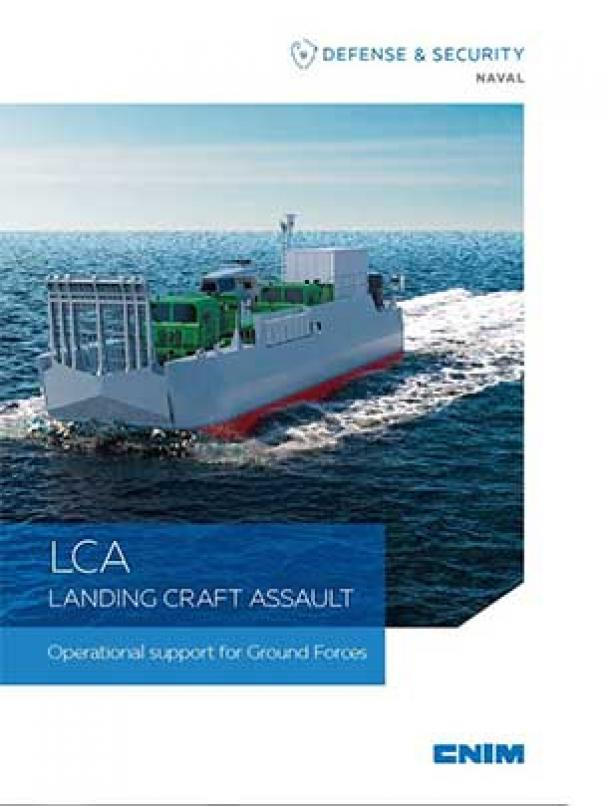 LCA LANDING CRAFT ASSAULT Operational support for Ground Forces