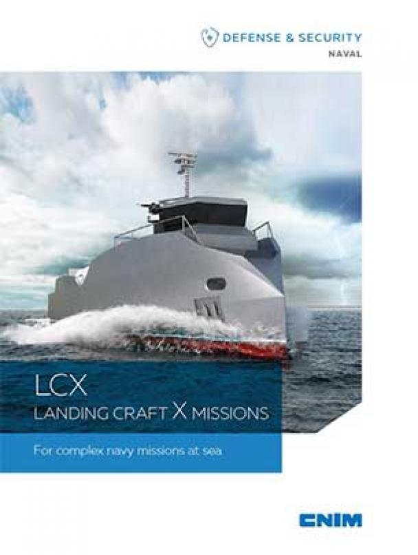 LCX LANDING CRAFT X MISSIONS For complex navy missions at sea