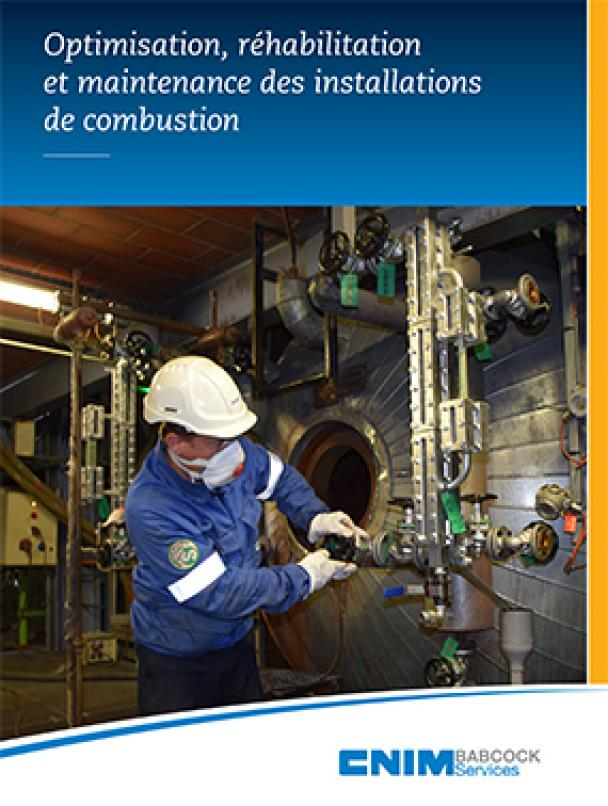 Optimisation, réhabilitation et maintenance des installations de combustion