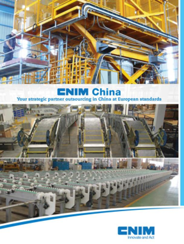 CNIM China: your strategic partner outsourcing in China at European standards.