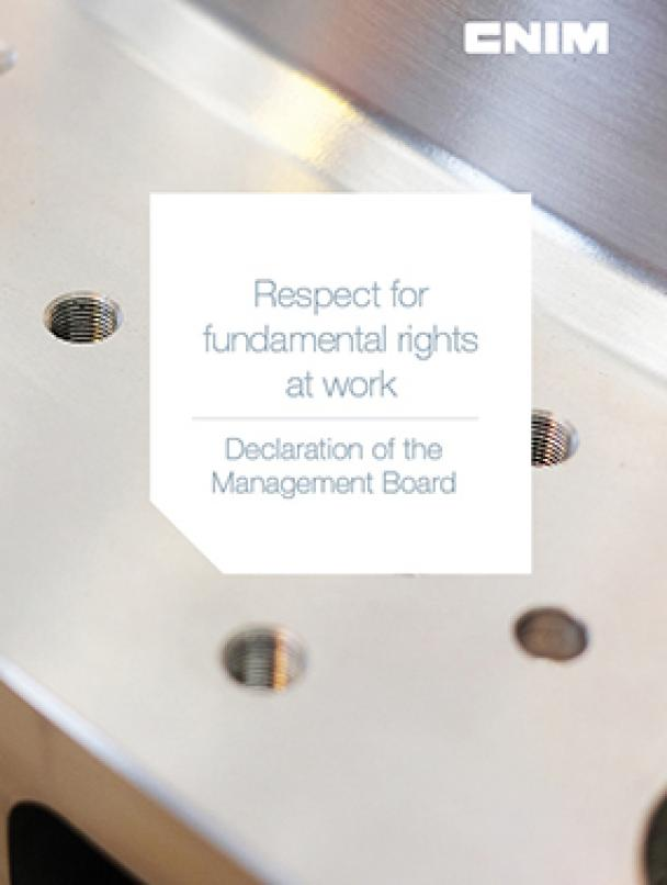 Declaration of the Management Board