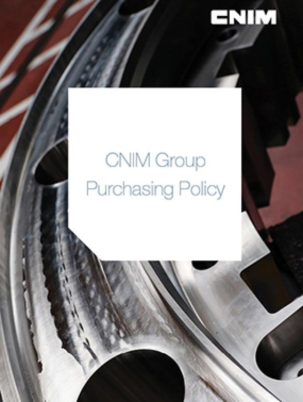 CNIM Group Purchasing Policy