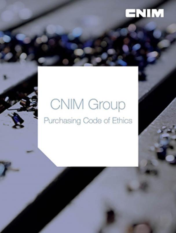 CNIM Group Purchasing Code of Ethics