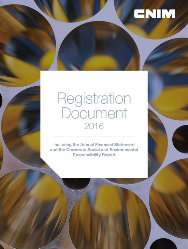 2016 Registration document