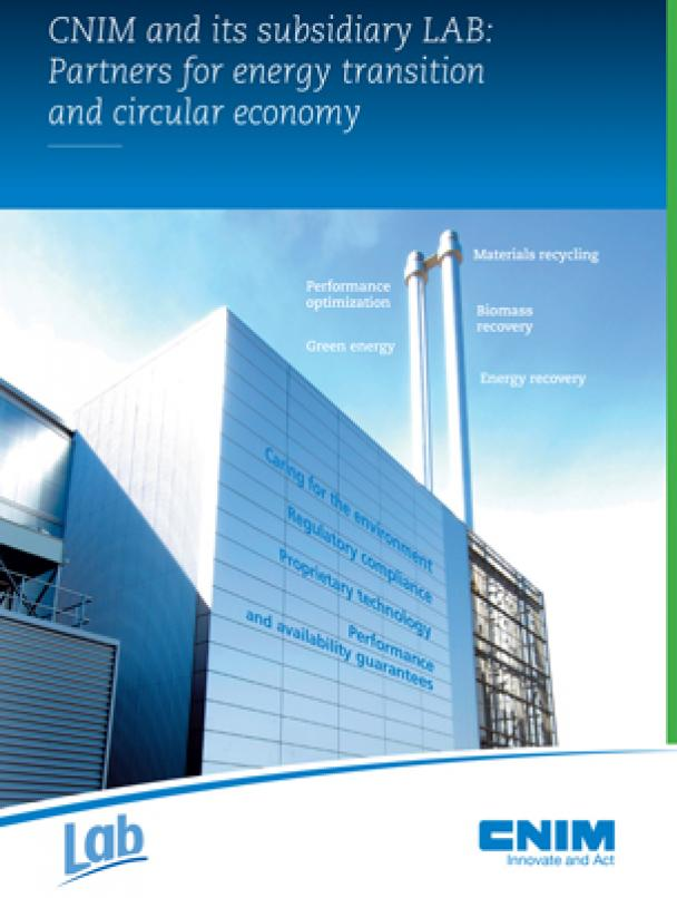 CNIM and its subsidiary LAB : Partners for Energy transition and circular economy
