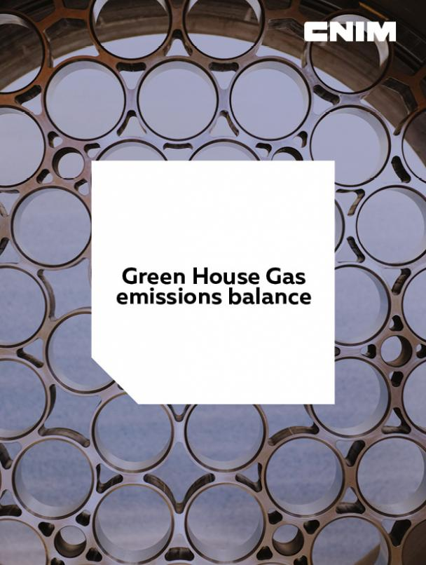 2019 Green House Gas emissions balance