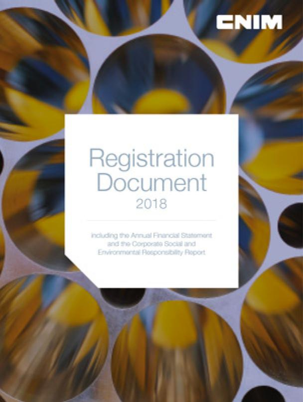 Registration Document 2018 - English pending