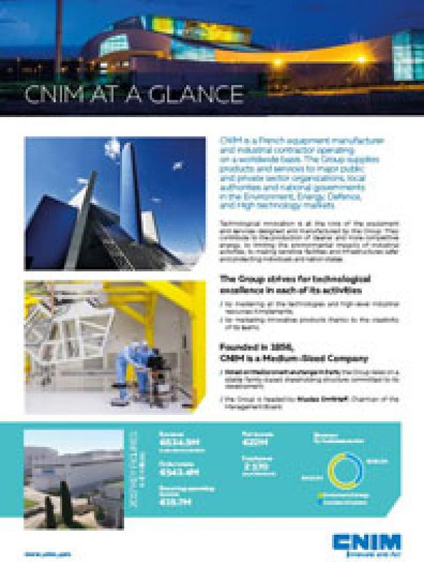 CNIM at a glance